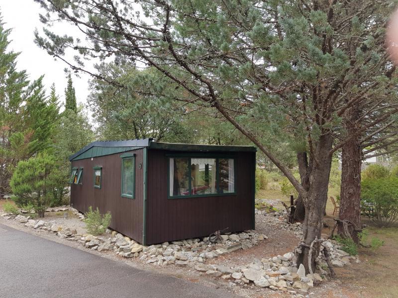 Mobile home op ruime kavel nr. 67